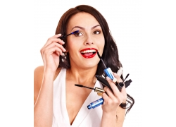 美容化妆人物摄影图片