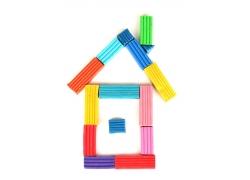 橡皮泥做成的房子