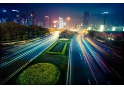 美丽城市公路道路风景图片图片