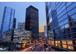 繁华城市风景图片图片