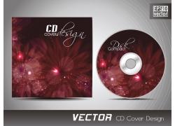 梦幻花朵CD盒设计