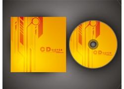 黄色风格CD封面设计