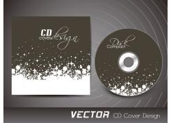 星光花纹CD封面设计