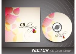 梦幻树叶CD封面设计