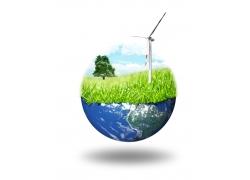 环保概念创意海报高清图片图片