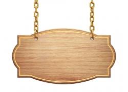 木质指示牌图片