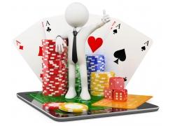 扑克骰子筹码与3D小人