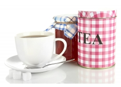 茶叶蜂蜜与咖啡