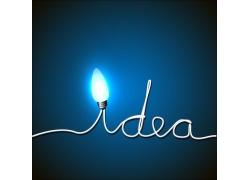 灯泡和电线