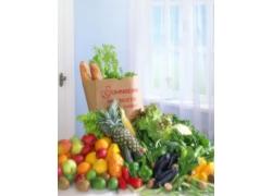 窗户边的蔬菜