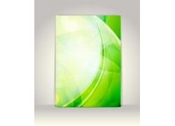 绿色清新海报背景