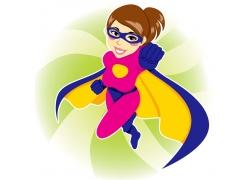 卡通美女超人