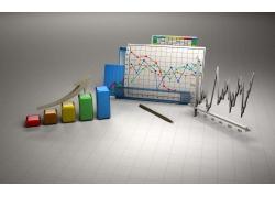 柱状图折线图和笔
