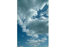 美丽天空云朵摄影