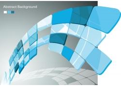 立体方块背景图案