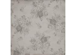 灰色牡丹花底纹
