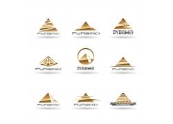金字塔logo设计