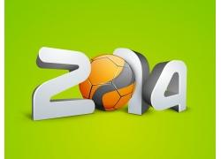 2014立体字与足球