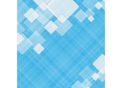 蓝色背景方块图案