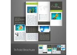 创意商务宣传折页图片