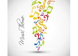 音乐符号背景