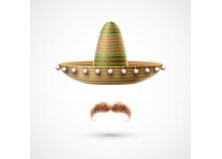 墨西哥帽子胡子背景