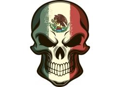 墨西哥骷髅图案