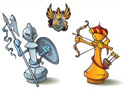矢量游戏人物设计图片