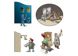 矢量童话人物设计图片