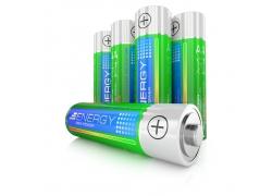 环保电池特写