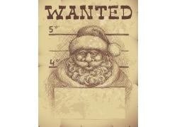 圣诞老人素描