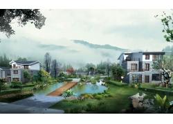 别墅小区园林设计