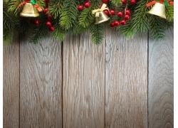 圣诞节木板背景