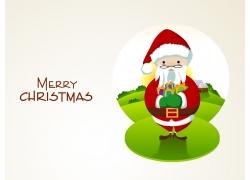 圣诞老人背景素材