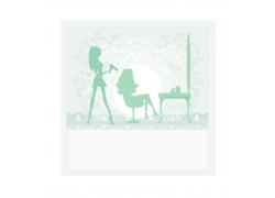 吹风机与女人