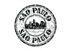 复古巴西印章