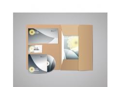 信封卡片CD盒设计