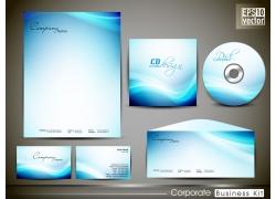 蓝色梦幻VI背景图片