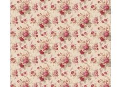 红色牡丹花底纹