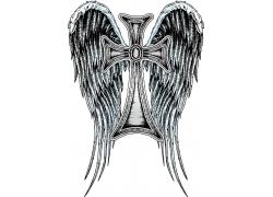 十字架与翅膀