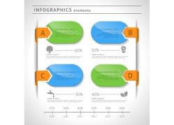 立体信息图表