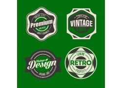 复古风格标签徽章设计