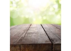 梦幻背景与木板
