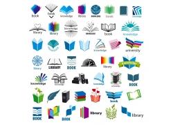 书本logo设计