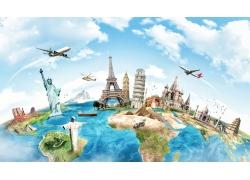 地球上的旅游景区