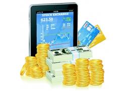 金融货币与平板电脑