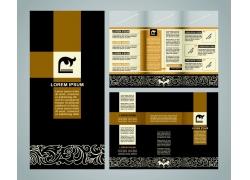 精美艺术宣传手册整体设计图片