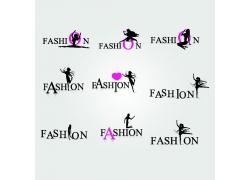 体操女性剪影logo设计