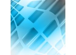 蓝色方块科技背景
