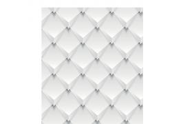 白色菱格立体背景